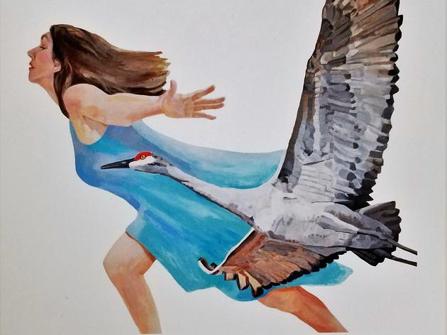 CANCELLED - Flying Free: An Inspiring Crane and Art Talk
